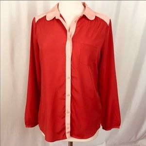 American Eagle Outfitters Button Down Top Medium